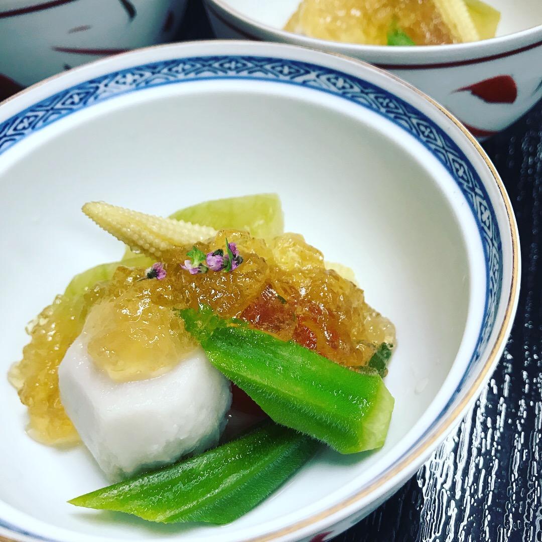 おまかせ会席料理 個人盛りは¥3500~[税別](要予約)